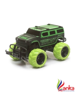 Miss & Chief Big and Mean Rock Crawling 120 Scale Modified Off-Road Hummer RC CarMonster Truck(Green)  (Multicolor)