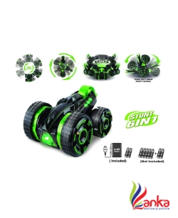 Miss & Chief 5Rounds RC Stunt Car On Double-Faced  (Green)