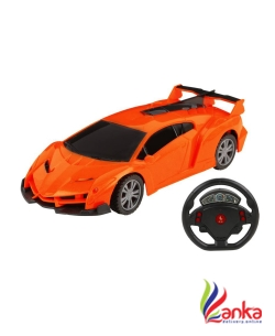 Majorette FULL FUNCTION RC CAR - LMB  (Orange)