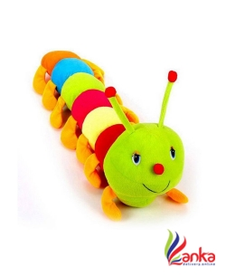 MTC Cute Colourful Caterpillar Soft Toy- 55cm (Multicolor)