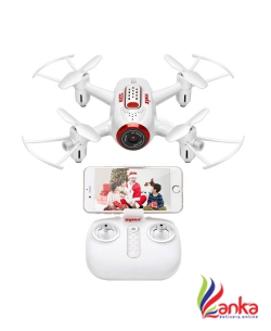 Hobbitos Syma X22W FPV Drone with WiFi Camera Live Video APP Control with Flight Plan, Altitude Hold, 3D Flips, Headless Mode & One Key Take-off,Landing  (White)