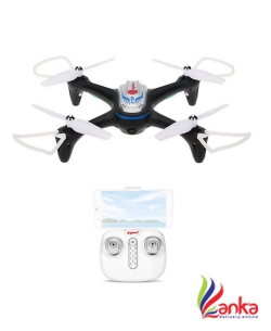 Hobbitos Syma X15W Wi-Fi FPV Drone Camera Real Time Video APP Control RC Quadcopter with Flight Plan, Altitude Hold, 3D Flips, Headless Mode, One Key to Return, LED Lights