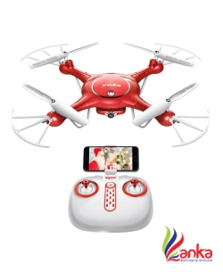 Hobbitos Syma X5UW 720P HD Camera WiFi FPV Quadcopter Altitude Hold Mode RC Drone  (Red)