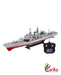 HENGTAI Smasher Destroyer 31 RC War Ship  (Multicolor)