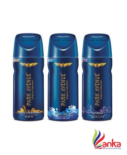 Park Avenue Good Morning , Cool Blue & Storm Deodorant Spray - For Men  (Buy 2 Get 1(150ml Each) Free)