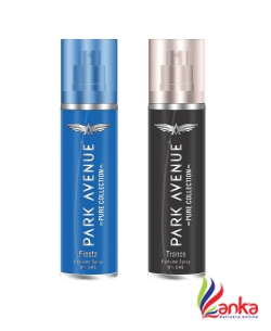 Park Avenue Fiesta and Trance Pure Collection Perfume Spray 135ML Each (Pack of 2)