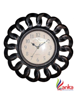 AARIP Analog 25 cm X 25 cm Wall Clock  (Multicolor, With Glass)