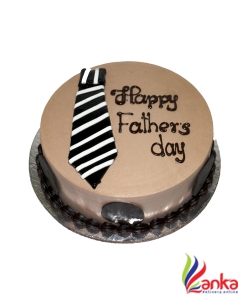 Chocolate Tie Fathers day cake