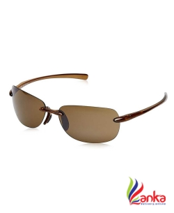 Fastrack UV Protection Rectangular Sunglasses (Free Size)  (Brown)