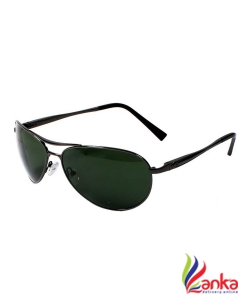 Aislin UV Protection Aviator, Wrap-around Sunglasses (63)  (Green)