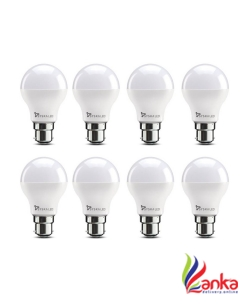 Syska Led Lights 7 W Standard B22 LED Bulb  (White, Pack of 8)