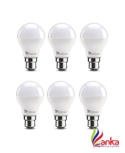 Syska Led Lights 5 W Standard B22 LED Bulb  (White, Pack of 6)