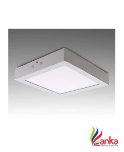 D Mak 22 Watt Square LED Surface Mounted Panel Light, Cool White Mounted Panel Cool White Pack Of 01 Flush Mount Ceiling Lamp