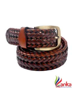 Cavallo  Men Evening, Party, Casual Tan Genuine Leather Belt