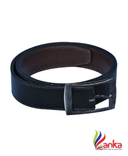 Besto Men Casual Black Artificial Leather Belt