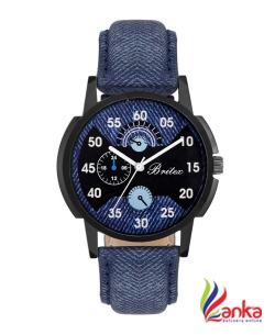 Britex BT6127 Mr. Denim Analog Watch - For Men