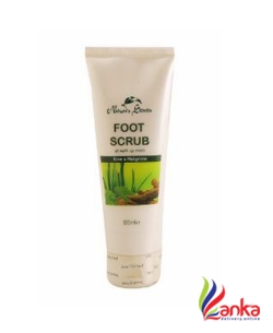Natures Secret Foot Scrub Aloe 100Ml