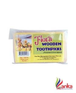 Flora Wooden Tooth Picks 500S