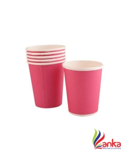 Acon Party Favors Paper Cups Pink 6S