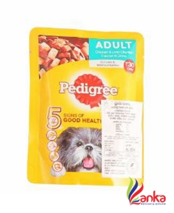 Pedigree Chicken And Liver Pouch 80G