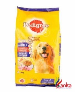 Pedigree Adult Chicken And Vegetable 3Kg