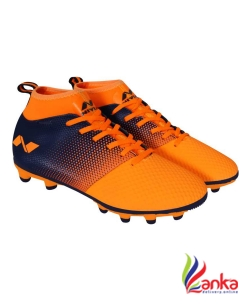 Nivia ASHTANG Football Shoes For Men  (Blue, Orange)