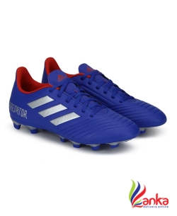 Adidas PREDATOR 19.4 FXG Football Shoes For Men  (Blue)