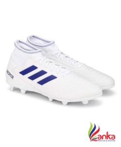 Adidas PREDATOR 19.3 FG SS 19 Football Shoes For Men  (White)