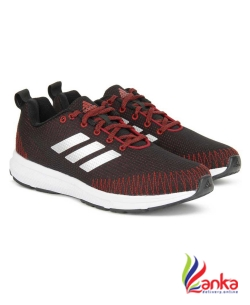 Adidas NAYO 1.0 M Running Shoes For Men  (Red, Black)