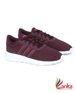 Adidas LITE RACER Running Shoes For Men  (Maroon)