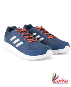 Adidas DROGO M SS 19 Running Shoes For Men  (Blue, Orange)