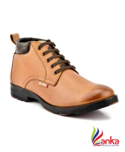 Lee Cooper Boots For Men  (Tan)