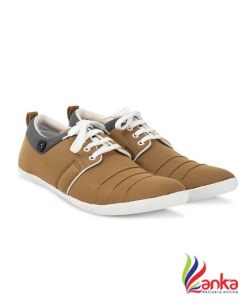Gs Party Casuals For Men  (Tan)