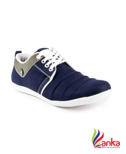 Gs Party Casuals For Men  (Blue)
