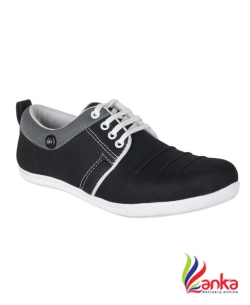 Gs Party Casuals For Men  (Black)