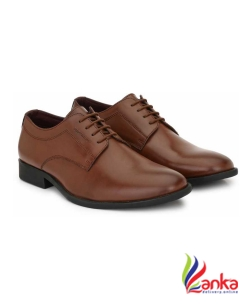 Provogue DERBY Lace Up For Men  (Brown)