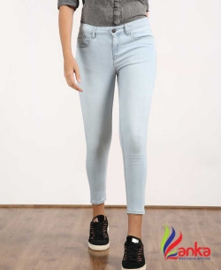 Jealous 21 Slim Women Light Blue Jeans